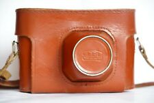 Genuine hard case camera bag for Fed-5 Fed-5C Fed-5B with strap leather Ussr