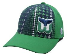 Hartford Whalers OTH Canal NHL Hockey Houndstooth One Size Stretch Fit Cap Hat