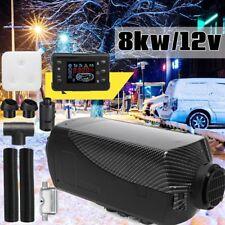 8KW 12V Air diesel Heater Parken Luft heizung Standheizung LCD Schalter ir