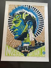 Tyler Stout - Art of Musical Maintenance 8 Portland 11 print Signed edition  100
