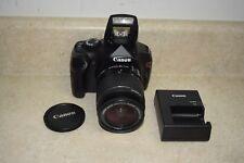 Canon EOS Rebel T3/ EOS 600D 18.0MP Digital SLR Camera - Black Kit w/ 18-55mm