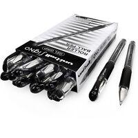 Uni-Ball UM-151S Signo Gel Rollerball Pen – 0.7mm - Black - Pack of 12 + 2 Free