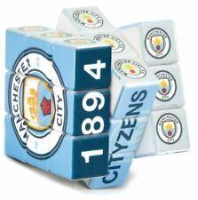 Manchester City Cubo de Rubik Fútbol Regalo Juguete Juego Blues con licencia