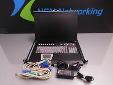 """StarTech CABCONS8 15"""" Rackmount LCD Console w/ Rear Mount 8 Port KVM Switch   #A"""