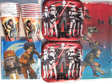 STAR WARS REBELS - Birthday Party Supply Kit Pack Set for 16