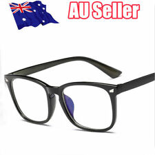 Blue Light Filter Block UV Transparent Lens  Computer Glasses Anti-glare  OD