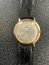 Omega Mens Solid 18K .750 Gold 32 MM Watch
