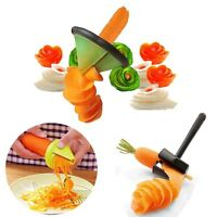 Multifunction Vegetable Spiral Slicer Cutter Fruit Peeler Kitchen Gadgets Tools