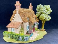 Lilliput Lane - Cherry Blossom Cottage Landmark Collection Vintage 1995