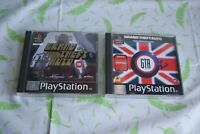 Sony Playstation games Grand Theft Auto Limited Edition & London - VGC Rockstar