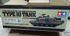 Tamiya # 56037 1/16 RC JGSDF Type 10 Tank - Full Option Kit NEW IN BOX