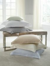 ITALY SFERRA FIONA COTTON SATEEN PILLOW SHAM WITH CLASSIC-STYLE FLANGES