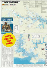 Sydney Harbour afn fishing map   New, free airmail worldwide