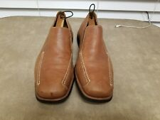 SANDRO COMFORT WALK SLIP-ON LOAFERS SHOES Size: 11.5D TAN LEATHER VERY NICE