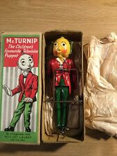 Mr Turnip The Children's Favourite Television Puppet
