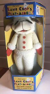 "Vintage 1992 Shari Lewis 16"" LAMB CHOP Full Body Hand Puppet~#70190~NEW IN BOX"