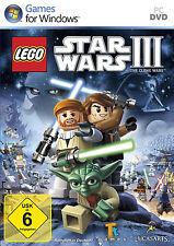 Lego Star Wars 3 III-The Clone Wars para PC | en DVD funda rodamient. Deutsch