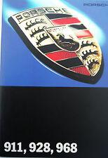 New listing Porsche; 1994 Model Range Sales Brochure, 911,928 and 968