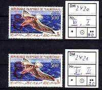 Mauretanien Michelnummer VI  2 Stck  postfrisch