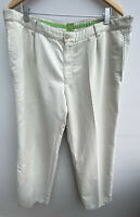 Men's Trousers W41 L31 Ivory Hugo Boss <MM1624