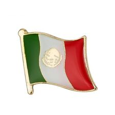 MEXICO MEXICAN FLAG ENAMEL PIN BADGE BRAND NEW FREE POST