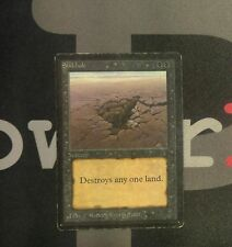 1 Sinkhole - Beta MtG Magic Black Common old school 93/94 #8049