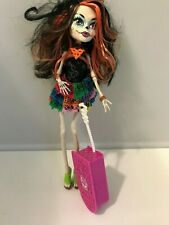 Monster High Skelita Calaveras Scaris Doll cuitcase city of frights