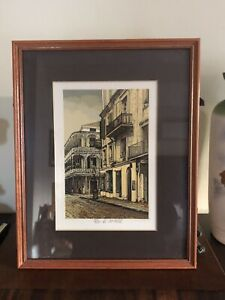 Lovely ~* Limited Edition PAUL DE LA FILLE Signed Numbered Serigraph Print