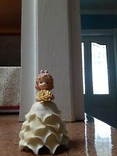 Precious Moments November Flower Girl Bell 2000 - new