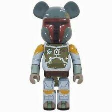 {Rare} Star wars Boba Fett KUJI 100/% Bearbrick Be@rbrick Figure Japan 0.7