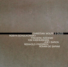 Christian Wolff : Christian Wolff: 8 Duos CD (2013) ***NEW***