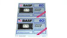 1x BASF Chrome extra II 90 Cassette Tape 1988 &