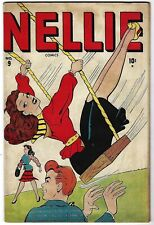 Nellie the Nurse #9 - Basil Wolverton, Morris Weiss art- TGL