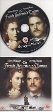 The French Lieutenant's Woman DVD 2002 Meryl Streep Jeremy Irons Love Story Film