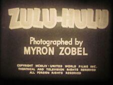 16 mm B&W Sound #642  Zulu Hulu Castle Films1954