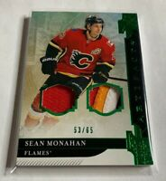 B1,328 - 2019-20 Artifacts Materials Emerald #36 Sean Monahan Patch #53/65