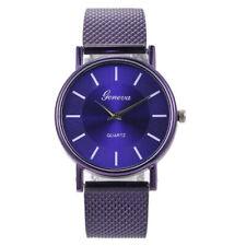 Fashion Women Watch Mesh Band Stainless Steel Quartz Analog Dress Wrist Watch