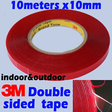 3M Double Sided Acrylic Gel Tape VHB 7302 10mmx10meter removeable heavy duty