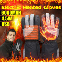 USB Beheizte Handschuhe Motorrad Thermo Warme Elektrische Heizhandschuhe