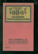 Liste de prix modernes trans missions pour 1920