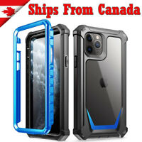 For iPhone 11 Pro Max Clear Case Rugged Heavy Duty TPU Shockproof Clear Cover
