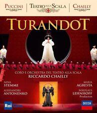 GIACOMO PUCCINI - TURANDOT  AGRESTA,MARIA/ANTONENKO,ALEKSANDRS   BLU-RAY NEU