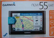 Garmin Nuvi 55LMT (D), VGC, 2020 Central Europe Lifetime Maps & Digital Traffic.