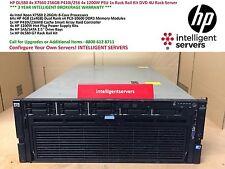 HP DL580 G7 4x X7560 32-Cores 256GB P410i/256 4x 1200W DVD 4U Rack Server
