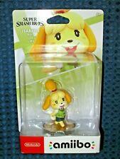 NEW Nintendo Animal Crossing amiibo Isabelle Switch Super Smash Ultimate JAPAN