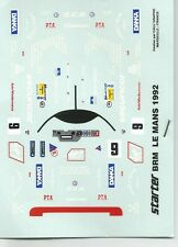 1/43  DECAL STARTER - BRM P351 LM  N°9- LE MANS 1992