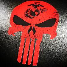 Punisher USMC Red- Sticker