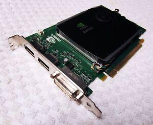 NVidia Quadro FX580 512MB DDR3 PCIe HDMI DVI/DP Graphics Card