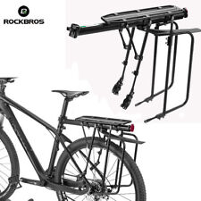 RockBros Bike Double Support Seat Post Bear Luggage Pannier Rack Max 75KG New