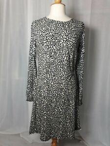 Warehouse Pull On Long Sleeve Dress 14